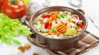 RECEPT- Minestrone leves