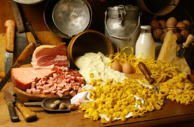 Cucina regionale - Emilia Romagna hagyományos ízei